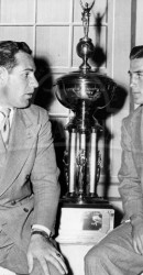 1948 Steve Suhey and Doak Walker After Cotton Bowl Game