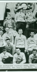 1935 SMU Players Ready to Leave for Rose Bowl