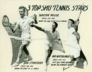 1953 SMU 3 Top Tennis Stars