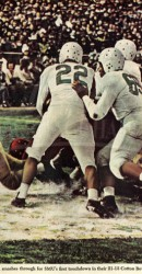 1948 Doak Scoring Against Oregon In Cotton Bowl