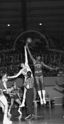 1957 All American Jim Krebs Against All American Wilt Chamberlain