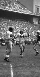 1950 Benners To Ben White For Winning TD At Ohio State With Kyle Rote Cheering