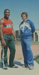 Michael Carter And Coach Ted NcLaughlin