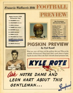 1950 Kyle Rote