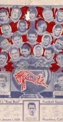 1935 SMU Rose Bowl Poster