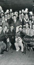 1936 – Mustangs Arrive In NYC To Face Fordham