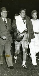 1949 Doak Comes Back Out On Field After Being Knocked Out By Rice