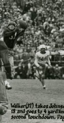 1947 Doak Was Also A Great Receiver