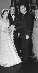 1950 Norma, Doak, and Dr. William Elliott After Wedding