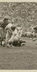 1948 Doak In Action Against The Missouri Tigers At Columbia