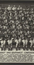 1940 Southwest Conference Champions