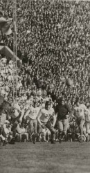 1936 Harry Shuford Almost Makes Interception Against Stanford At Rose