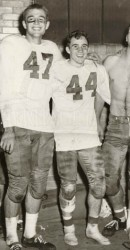 1951 Benners, Norton, Forrester, and Hightower After Great Win Over Irish