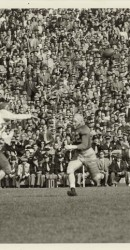 1951 The Great Fred Benners In Action Against Notre Dame At South Bend