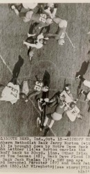 1951 Jerry Norton Returns The Opening Kick Off At Notre Dame