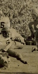 1951 Action At Notre Dame Stadium In 27-20 Pony Victory Behind Fred Benners