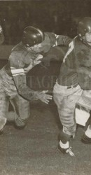 1949 Doak Shortly Before Injury In 1949 Rice Game