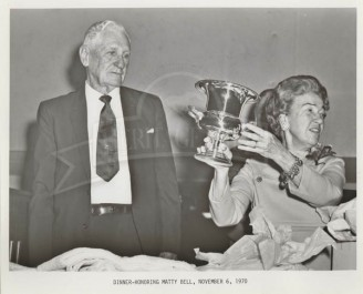 1970 Coach Bell And Mrs. Bell