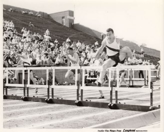 1958 Joe Hill Wins High Hurdles At SWC Freshman Championship