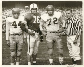 1950 Kyle Rote And Bobby Collier At Ohio State