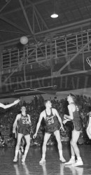 1955-56 Krebs (SMU) over O'Neal (TCU) at Joe Perkins Gym