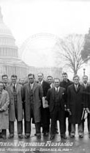 1930 SMU Mustangs At U.S. Capitol