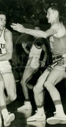 1957 Showalter Against The Horns At The SMU Coliseum