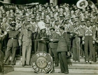 1936 Band Welcomed to New York By Mayor Laguardia
