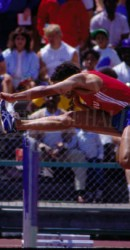 Henry Andrade At SMU Home Meet