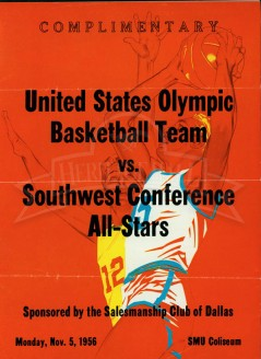 1955-56 Olympic Team vs. SWC All-Stars