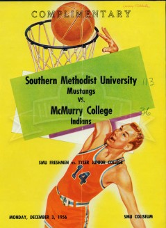 1956-57 SMU vs. McMurry