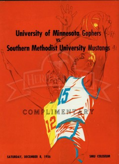 1956-57 SMU vs. Minnesota