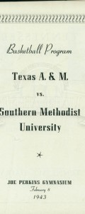 1942-43 SMU vs A&M