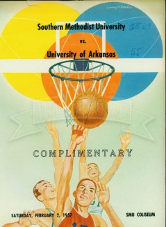 1956-57 SMU vs. Arkansas