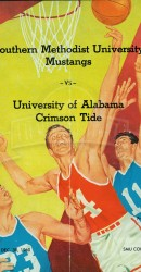 1960-61 SMU vs. Alabama