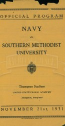 1931-SMU vs. Navy