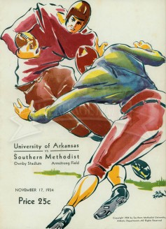 1934-SMU vs. Arkansas