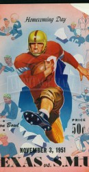 1951-SMU vs. Texas