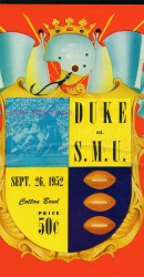 1952-SMU vs. Duke