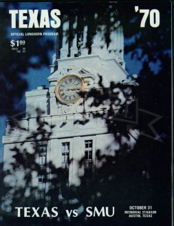 1970-SMU vs. Texas
