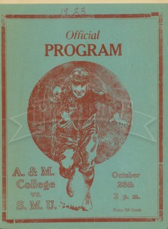 1924-SMU vs. Texas A&M