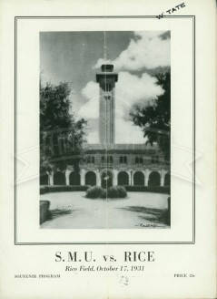 1931-SMU vs. Rice