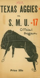 1922-SMU vs. Texas A&M