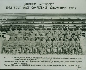 1923 SMU Football Team