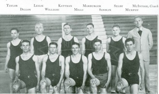1928-29 Freshmen Men's Basketball Team