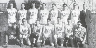 1934-35 SWC Men's Basketball Team Champs