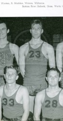 1938-39 Freshmen Men's Basketball Team