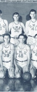 1945-46 Men's Basketball Team