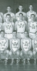 1946-47 Men's Basketball Team
