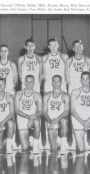 1955-56 Men's Basketball Team